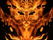 Créature d'incendie photo stock