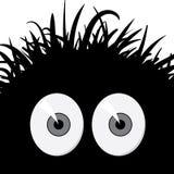 Créature effrayée comique - illustration de vecteur Image libre de droits