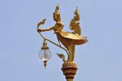 Créature mythique dans un temple de la Thaïlande photo libre de droits