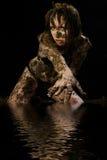 Créature sexy de marais Photographie stock libre de droits