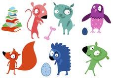 créatures Photo stock