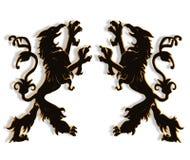 Créatures légendaires du griffon 3D Image stock
