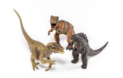 Créatures préhistoriques Images libres de droits