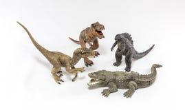 Créatures préhistoriques Photographie stock libre de droits