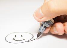 Créez le bonheur Photos stock
