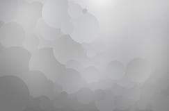 Créez le cercle gris abstrait image stock