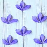 Créez les fleurs faites main Déroulement des opérations, outils et matériaux images libres de droits