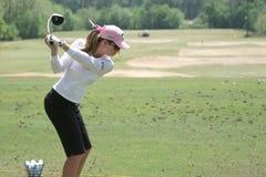 Crémeuse de Paula, excursion de golf de LPGA, Stockbridge, 2006 Photos stock