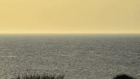 Crépuscule à la mer baltique Photos stock