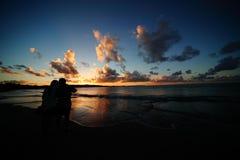 Crépuscule Photo libre de droits