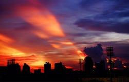 crépuscule Image libre de droits