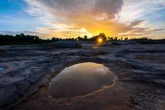 Crépuscule chez Grand Canyon de la Thaïlande Images stock