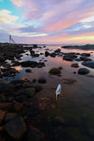 Crépuscule d'archipel Photographie stock