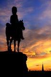 Crépuscule d'Edimbourg Image libre de droits