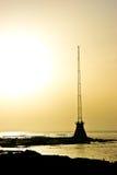 Crépuscule de Beyrouth Manara Image stock