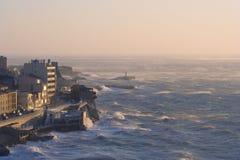 Crépuscule de Corniche Photo libre de droits
