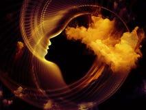 Crépuscule de l'âme Image libre de droits