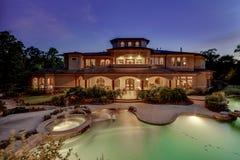 Crépuscule de Real Estate image libre de droits