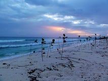 Crépuscule des Barbade Photographie stock libre de droits