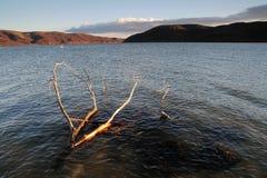 Crépuscule sur Danube photos libres de droits