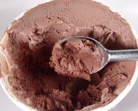Crême glacée de chocolat Images stock