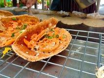 Crêpe croustillante thaïlandaise Images stock