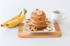 crêpe de banane d'amande photo libre de droits