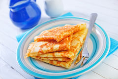Crêpes photos stock