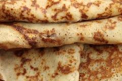 Crêpes chaudes pour le déjeuner Image libre de droits