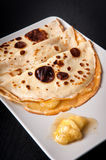 Crêpes de banane Photo stock