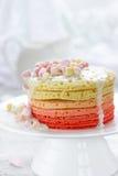 Crêpes de guimauve - dessert romantique délicieux Images libres de droits