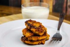 Crêpes de patate douce Photos libres de droits