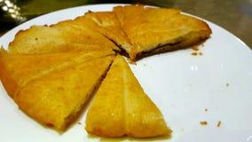 Crêpes, un plat typique de cuisine chinoise images stock