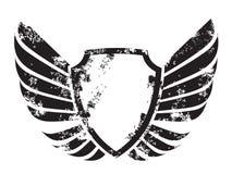 Crête à ailes illustration libre de droits