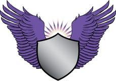 Crête avec des ailes Photo stock