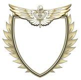 Crête avec l'aigle illustration de vecteur