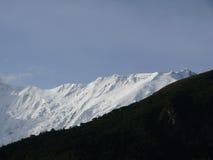 Crête blanche d'Annapurna IV pendant le matin Image libre de droits