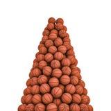 Crête de basket-balls Photos libres de droits