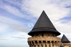 Crête de château Photo libre de droits