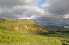 Crête de Dumyat à Stirling Photographie stock libre de droits
