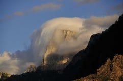 Crête de Gamila-Tymphi au crépuscule Photographie stock libre de droits