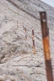 Crête de Koncheto sur la montagne Pirin Photos libres de droits
