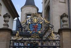 Crête de la ville du Luxembourg Photo stock