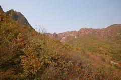 Crête de Lantau, Xinmi, Zhengzhou Images libres de droits