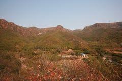 Crête de Lantau, Xinmi, Zhengzhou Photos stock
