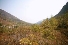 Crête de Lantau, Xinmi, Zhengzhou Images stock