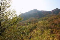 Crête de Lantau, Xinmi, Zhengzhou Photo libre de droits