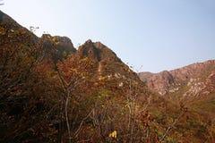 Crête de Lantau, Xinmi, Zhengzhou Photographie stock libre de droits