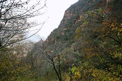 Crête de Lantau, Xinmi, Zhengzhou Image stock