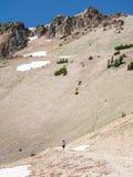 Crête de Lassen, parc national volcanique de Lassen Photos stock